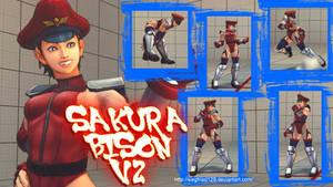 Ultra Street Fighter 4 - Sakura Bison V2