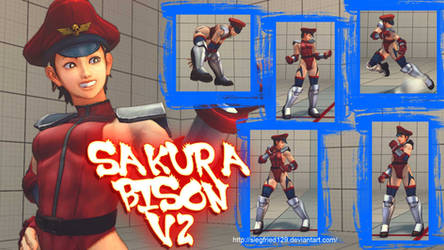 Ultra Street Fighter 4 - Sakura Bison V2 by Siegfried129