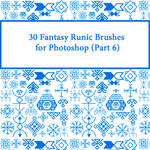 30 Fantasy Runic Brushes for Photoshop (Part 6)