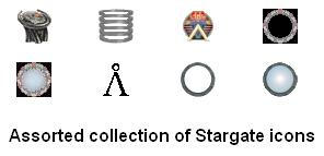 Stargate Icon Pack by N1ghtSt4lker