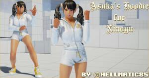 Xiaoyu's Asuka Hoodie Cosplay (Tekken 7 Mods)