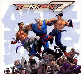 Tekken Comic Art Splash Screen (Tekken 7 Mods)