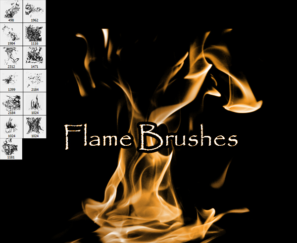 Flame Brushes