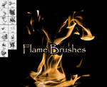 PNG pack for Flame Brushes