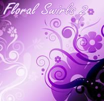 Floral swirls 2 by SugarBreezy