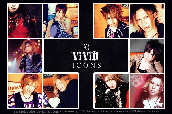 30 ViViD Icons by ParanoiaGod69
