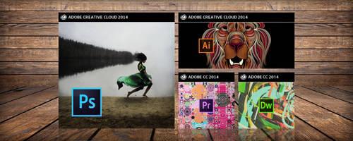 Adobe Creative Cloud 2014 - Windows Tiles by adijayanto