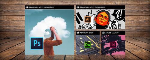 Adobe Creative Cloud 2019 - Windows Tiles by adijayanto