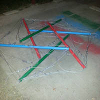 Tensegrity under construction by SmilingY