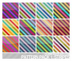 Stripes - Pattern Pack 1 by amanda-zkfski