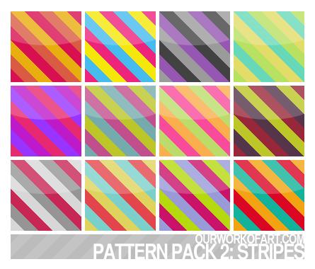 Stripes - Pattern Pack 2 by amanda-zkfski