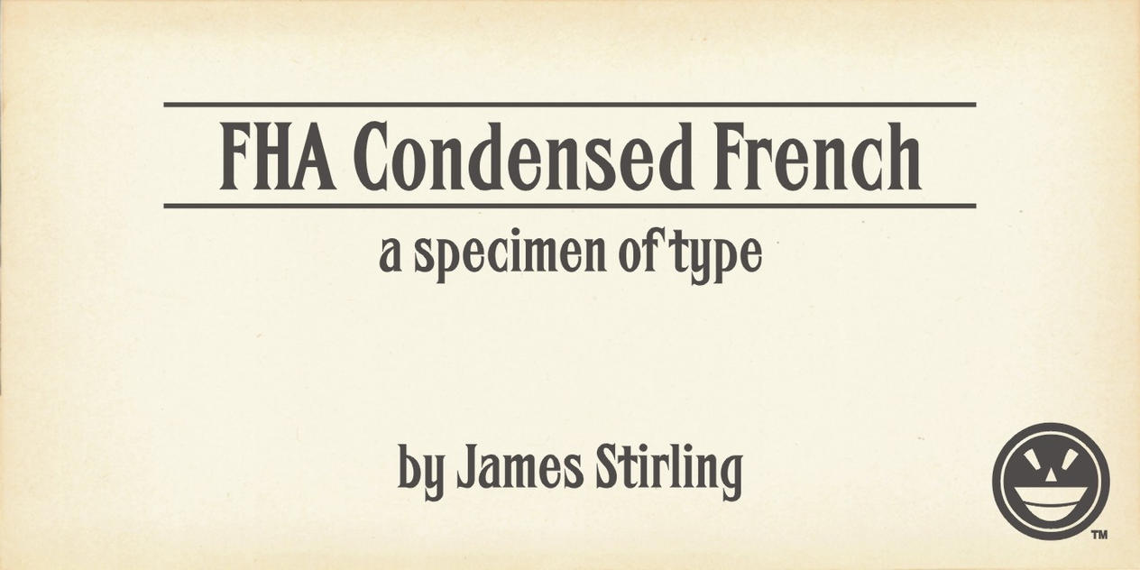FHA Condensed French Specimen Book by Phrostbyte64