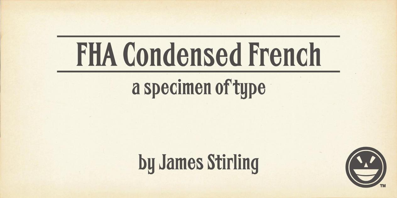 FHA Condensed French Specimen Book by Phrostbyte64