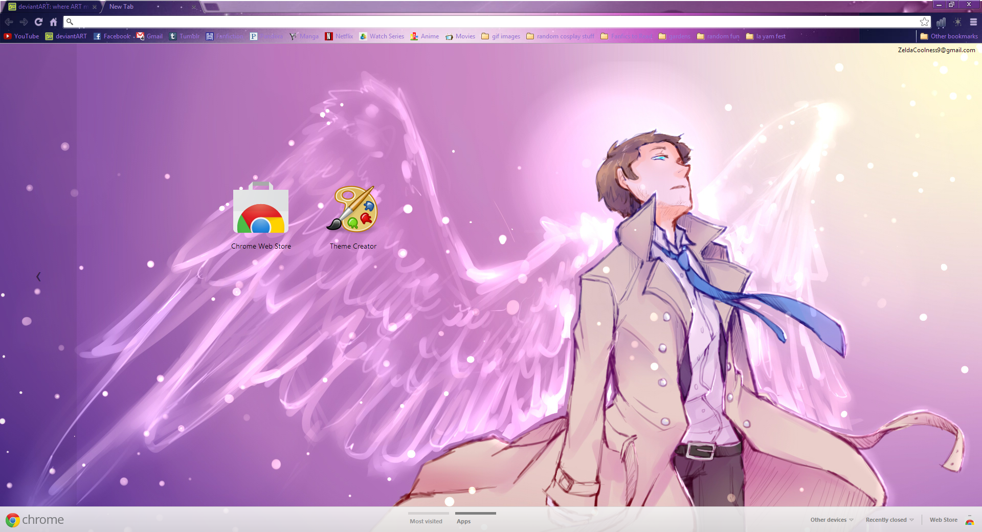 Gmail theme maker