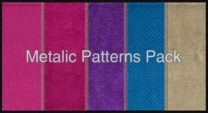 Colourful Metalic Pattern Pack