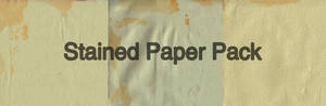 Stained Paper Pack