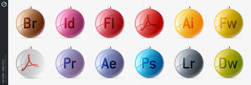 Adobe CS3 Icons - xMas style