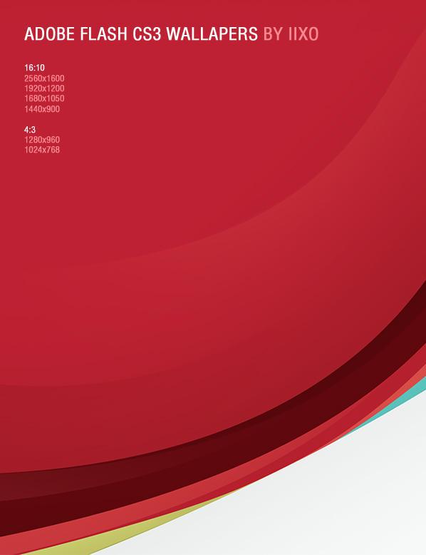 Flash CS3 wallpaper by iixo