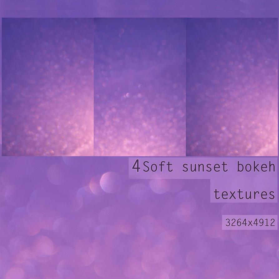 Soft sunset bokeh textures by StargazerLZ