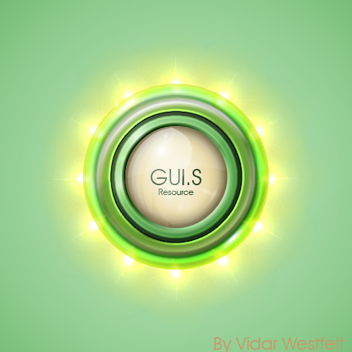 GreenLightOrb, GUI.S Resource by VidarWestfelt