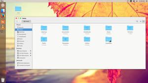 Yosemite 0.1 icons for ubuntu 14.04