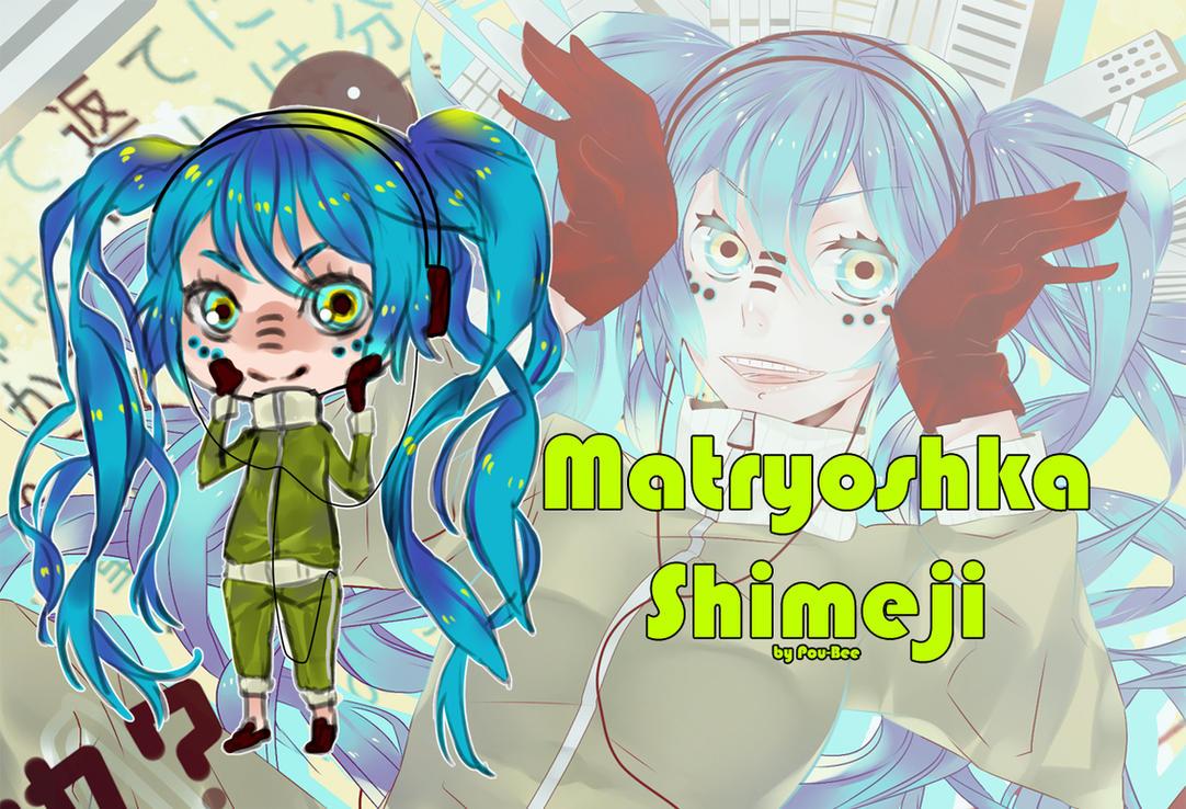 Shimeji Matryoshka by Fuwafuwa-Kuma
