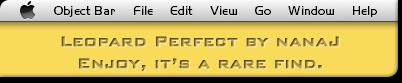 Leopard Perfect Objectbar