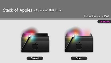 Stack Of Apples by NanaJ