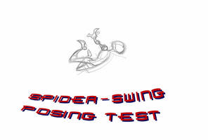 Spidey-Swing Posing Test by SkipperWing
