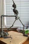 Human shapes - sculpture rotation