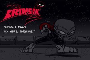 The Crimson Fly: Warning sense by SkipperWing