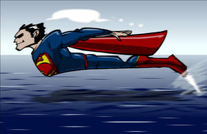 Superman: Flight by SkipperWing