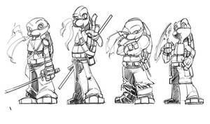 TMNT: A SkipperWing Touch by SkipperWing