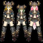 Viking Girls - Rin, Gumi, Luka