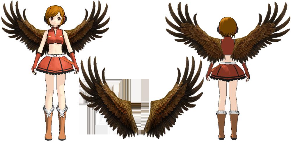 Rappelz shoulder decoration wings of babarians by for Shoulder decoration 9 letters