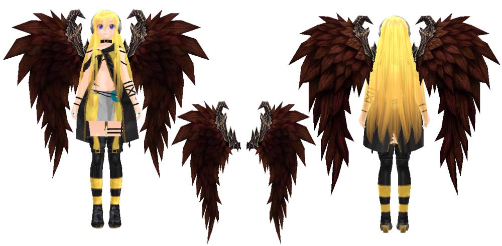 Rappelz shoulder decoration dark wing by jalmod on for Shoulder decoration 9 letters