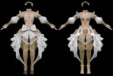 Vindictus: Delia Outfit by Jalmod