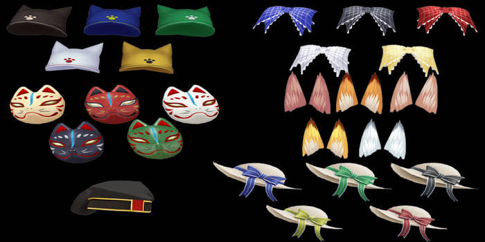 CM3D2: Pack 1 (Head Accessory)