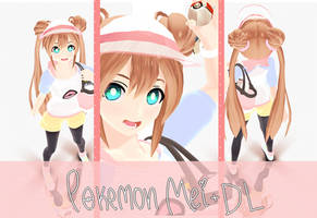 MMD- Pokemon BW2 Mei/Rosa DL by whimsicottsh
