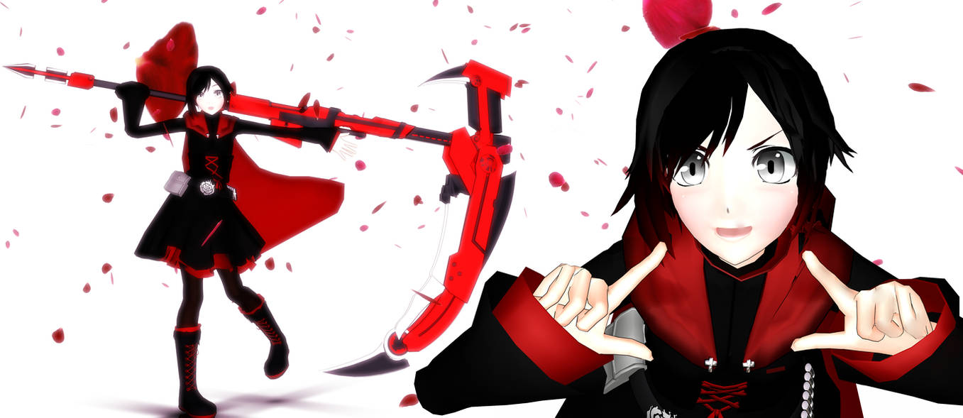 MMD-.::RUBY ROSE [DL] ::. OLD by whimsicottsh