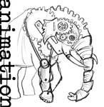 clockwork elephant-ANIMATION