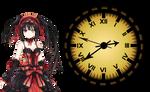 Tokisaki Kurumi Clock XWidget