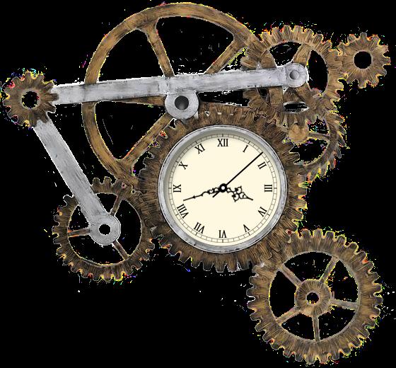 Steampunk Gear Clock Xwidget By Adiim On Deviantart