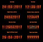 Nixie Tube - Steins Gate Date / Time