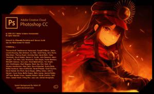 Splash Screen Adobe Photoshop CC 2018 Nobunaga