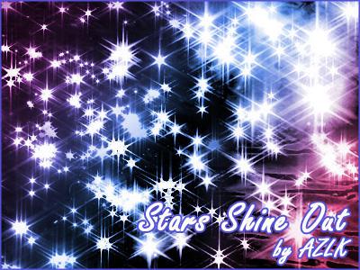 Brush set: Stars Shine Out