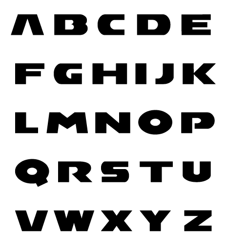 Mario Kart Font Two F2 By Mucrush On Deviantart