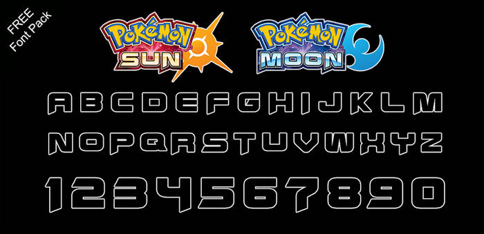 Font Pack: Sun and Moon