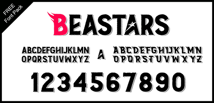 Font Pack: BEASTARS