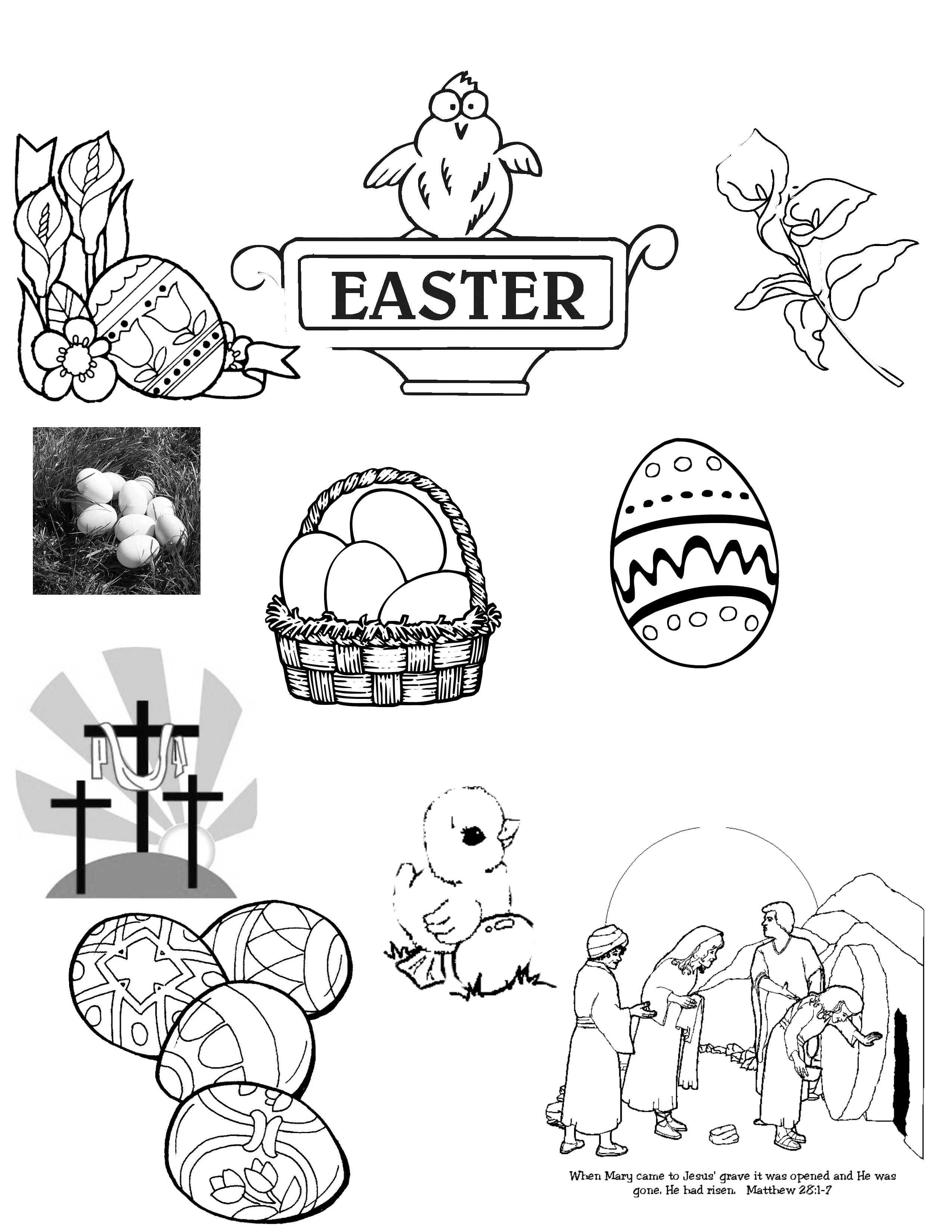 Easter Photoshop Brushes by Loganzw